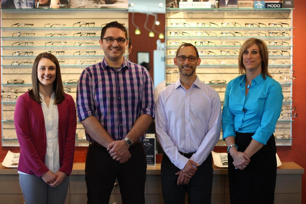 Our Columbia MO optometry team at Welcomes you to Andrew Stone Optometry